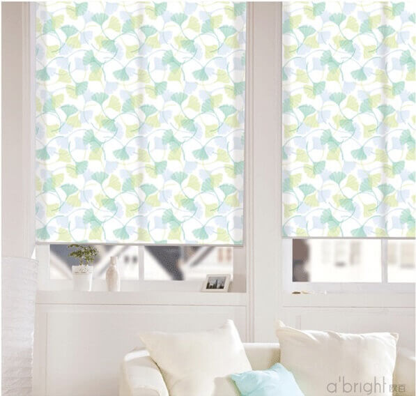 Translucent Floral Roller Blinds